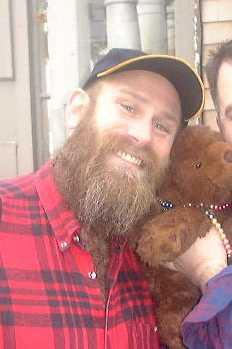 Joanie, showing me around Provincetown, MA at Hibernation Run 8.